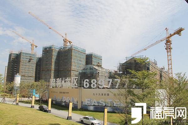 保利上城东区:多产品在售 水岸大宅实景呈现