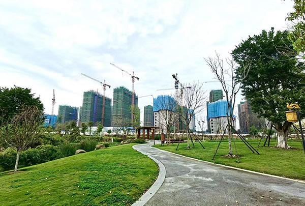 中海锦城:新品预计在4月推出 多楼栋出地面多层
