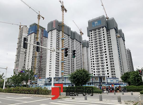 万科城市之光最新进度 二期/三期住宅新品待推